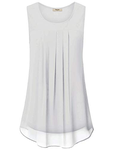Timeson Women's Double Layer Tank Top