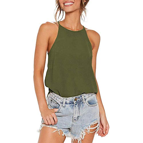 Women's Halter Neck Tank Top