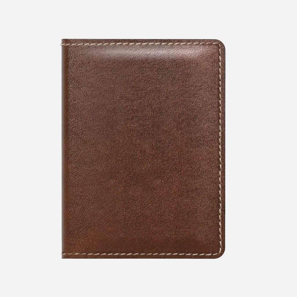 An example of a slim wallet. One of the many wallet types.