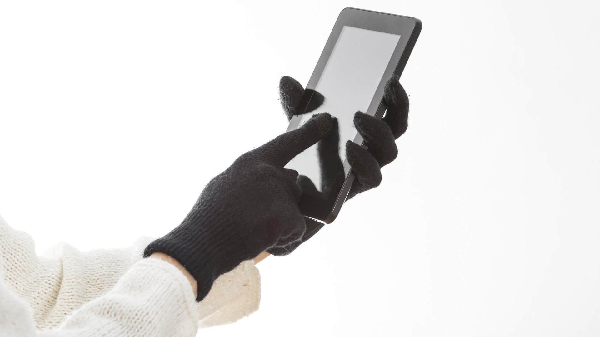Touchscreen gloves for women.