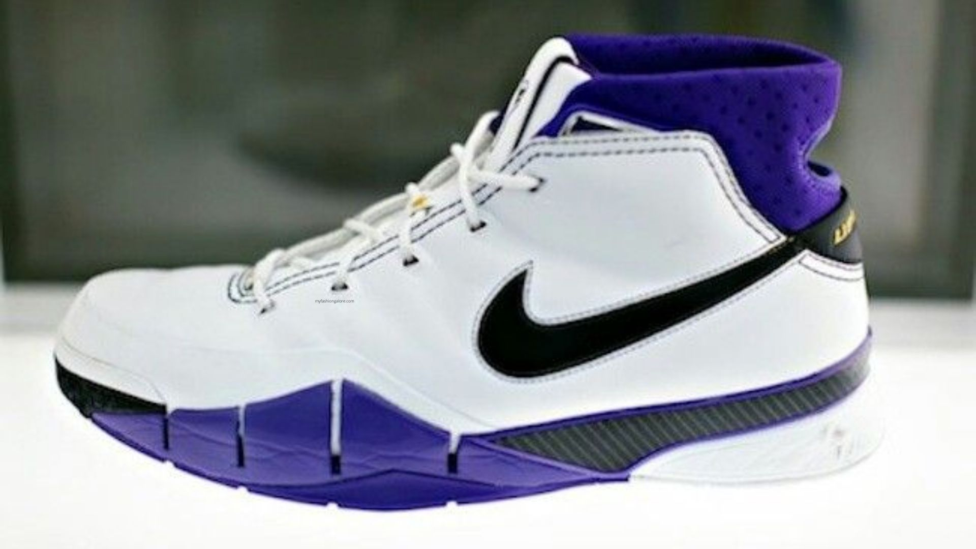 Famous shoes worn and designed for Kobe Bryant.