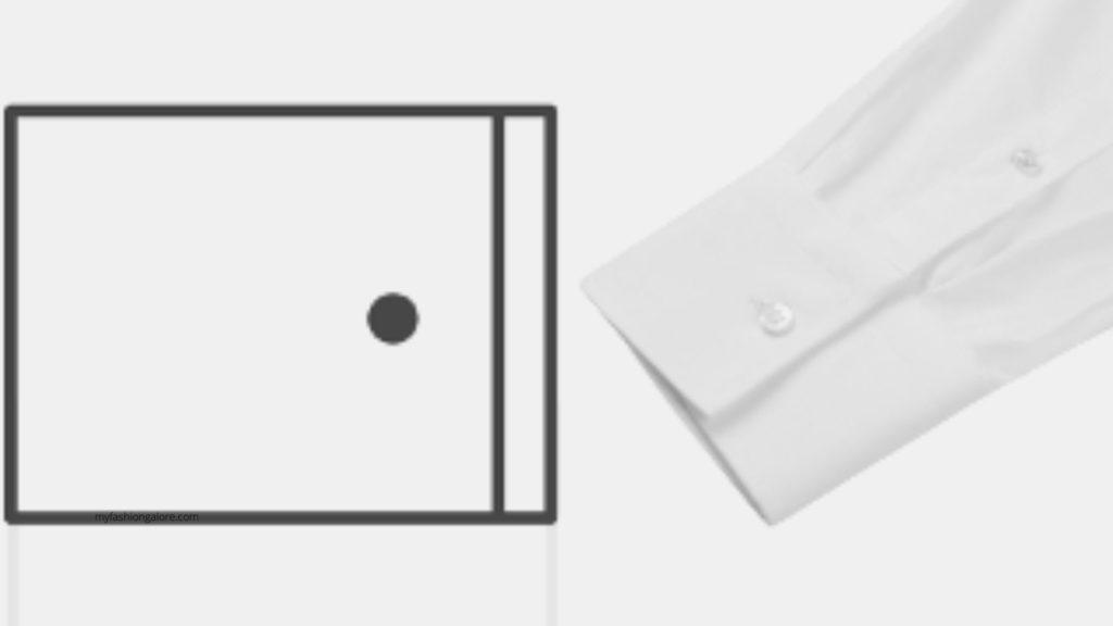 Standard cuff, straight cuff or square cuff